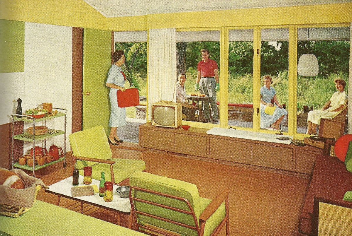Homes of the 1960 s amo 39 s art department Retro home ideas